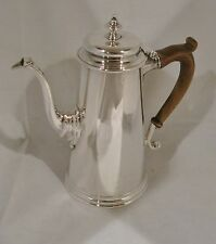 REPRODUCTION STERLING SILVER COFFEE POT, ENSKO, NEW YORK CITY c.1950-60