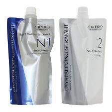 Shiseido Professional Crystallizing Straight For Fine or Tinted Hair N1+2 400g