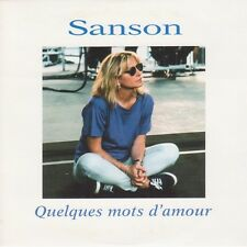 Véronique Sanson ‎CD Single Quelques Mots D'amour - France (EX/M)