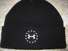 Men's Under Armour WWP Stealth Beanie Tactical Headwear Black