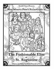 The Steampunk World of Laurentia: Miss Minerva's Steampunk Coloring Book :...
