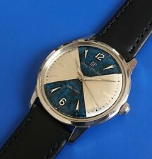 Exquisite 1960s Vintage Mans Girard-Perregaux *SEA HAWK*  Stunning  Dial!
