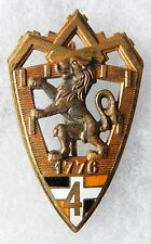 INSIGNE INFANTERIE - 4° Régiment d'Infanterie - A.B.P.D.