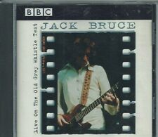 "JACK BRUCE - ""LIVE ON THE OLD GREY WHISTLE TEST""   (RARE '75-'81 BBC)   CREAM"