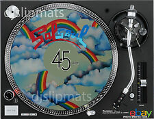 "Ltd Ed SALSOUL 7"" / 12"" DJ SLIPMAT turntable platter mat Philly Soul Disco Funk"