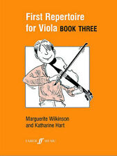 First Repertoire For Viola. Book 3 Wilkinson, M & Hart, K Viola And Piano Albums