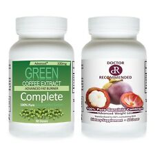 PURE GREEN COFFEE BEAN EXTRACT CHLOROGENIC+ GARCINIA CAMBOGIA EXTRACT PURE DR TV