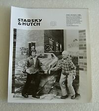 "1976 MEGO B&W SALESMAN SAMPLE PHOTO OF STARSKY AND HUTCH 8"" FIGURES"