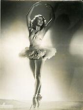 """""""Lycette DARSONVAL"""" Photo originale HARCOURT années 40"""
