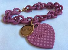 OPS!Objects Lovely designed in Italy OPSI Love Collection bracelet Color Purple