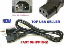 """Asus VW222U 22"""" Inch LCD Monitor TV Power Cable Cord Plug AC NEW 5ft FAST SHIP!"""