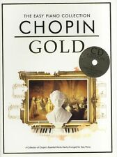 The Easy Piano Collection Chopin Gold Sheet Music Book