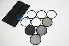 77MM 4X 6X 8X STAR ND2​+ND4+ND8 ND+UV+Soft+CPL FILTER SET with CASE for DSLR DC