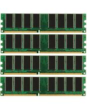 4GB (4X1GB) DDR Memory PC-3200 Gateway 510X