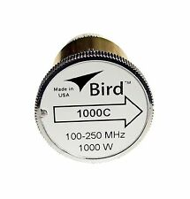 Bird 1000C Thruline WattMeter Element 1000W 100-250 MHz, GENUINE BIRD