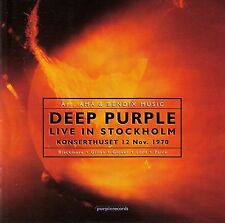 DEEP PURPLE : LIVE IN STOCKHOLM 1970 / 2 CD-SET - NEU
