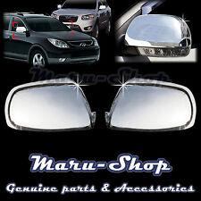 Chrome Side Marker Rear View Mirror Cover Trim for 07~13 Hyundai Veracruz/ix55