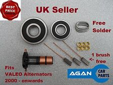 ARK106 NEW REPAIR KIT FOR VALEO ALTERNATOR Bearings 6303 6202 Brushes 2000 on