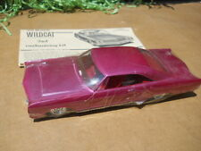 AMT 1965 Buick Wildcat  1/25 Plastic Model Kit Car Old Build Restore ?  3 in 1
