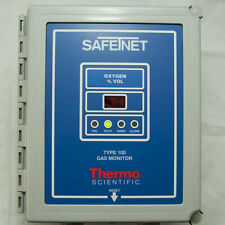 Thermo SafeTNet 100 Single Channel Gas Monitoring 72-1302 Oxygen 115V