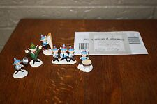 Hawthorne Village Rudolph's Christmas Town Santas singers & Band accessory set