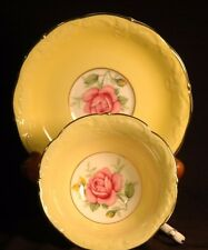 Paragon Yellow  Sconced  Roses Cup and Saucer