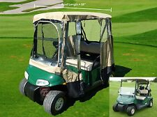 2 Passenger Driving Enclosure Golf Cart Cover.Fit EZ Go,Club Car,Yamaha Cart.Tau