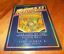 PINBALL The Lure of the Silver Ball Machines Collector Collecting Machine Book