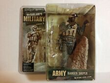 MCFARLANE MILITARY ARMY RANGER SNIPER AFRICAN AMERICAN *SHIPS WORLDWIDE*