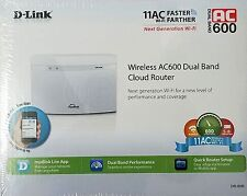 D-Link DIR-808L AC600 4-Port Cloud App-Enabled Dual-Band Broadband WiFi Router