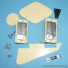 ELECTRIC GUITAR  HUMBUCKERS & LP PARTS CREAM/CHROME NEW