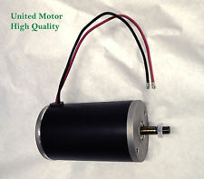 1 hp DC 12 volt permanent magnet electric motor / generator W/ hardened shaft