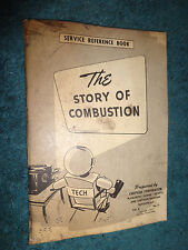1953 CHRYSLER PLYMOUTH DODGE DeSOTO THE STORY OF COMBUSTION SHOP BOOK ORIGINAL