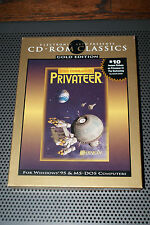 Wing Commander Privateer Gold Edition (PC, 1993) EA CD-ROM classic game Complete