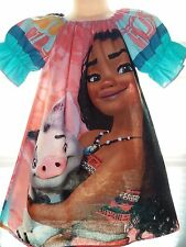 Patchwork Christmas  Moana and  Pua  Dress - Size 2t ,3t,4t PICK YOUR SIZE