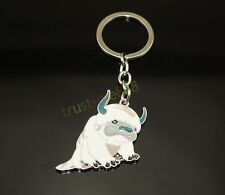 APPA AVATAR LAST AIRBENDER ANIMAL RARE  KEYCHAIN SET KEY RING
