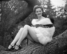 ALEXIS SMITH 1950 11x14 fiber Photo Embossed by John Florea RE160