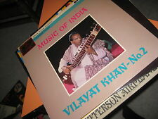 BOLLYWOOD LP MUSIC OF INDIA ... VILAYAT KHAN - No.2 His Master's Voice  ASD 0539