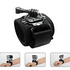 360 Degree Rotation Wrist Hand Strap Band Holder Mount for GoPro Hero 1 2 3