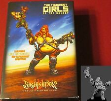 Raging Heroes 20775 Jailbirds Kiki Bulldozer Bio-Experiment Survivor Female Hero