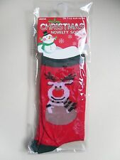 New ~ Men's ~ Reindeer ~ Socks ~ Size 7-11