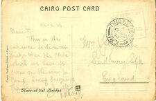 MILITARY CANCELLATION : 1916 FIELD POST OFFICE 163.  on picture postcard