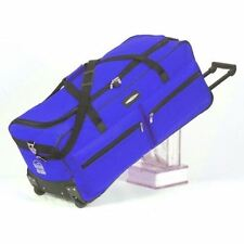 "JEEP 31 "" EXTRA LARGE LIGHTWEIGHT WHEELED HOLDALL TRAVEL SUITCASE LUGGAGE ROYAL"