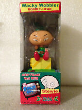 FUNKO FAMILY GUY STEWIE MERRY FREAKIN XMAS 2006 BOBBLE HEAD WACKY WOBBLER DENTED