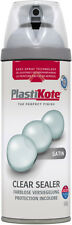 Plasti-kote Premium Spray Paint Satin 400ml Clear Acrylic