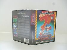 ☺ Jeux Mega Drive Sega Sonic 2 The Hedgehog Vendu Avec Boite