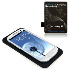 Qi Wireless Charger  Pad + Receiver Kit for Samsung Galaxy S3 III i9300