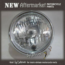 """[125.Y4] YAMAHA RD125 YAS3 AS3 YAS2 AS2 LS2 LS3 YLS3 HEAD LAMP 12V + CASE 6"""""""
