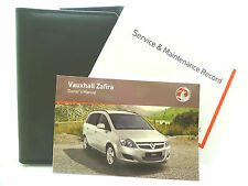 VAUXHALL ZAFIRA B SERVICE BOOK HANDBOOK & WALLET PACK -  2007 To 2010 Brand New