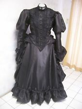 sale!!!LIZZIE BORDEN 1890's REP bustle VICTORIAN court DRESS sz 20